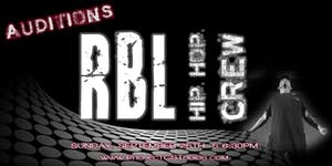 AUDITIONS: RBL Hip Hop Crew
