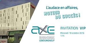 Événement Platine Axe LB9 - L'audace en affaires,...