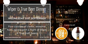 Wiper and True Beer Dinner at The Ox Cheltenham