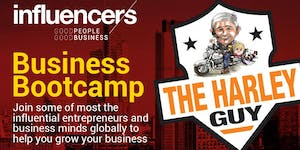 Influencers Business Bootcamp featuring Peter...
