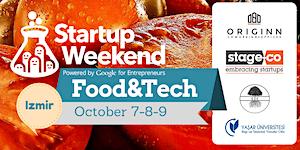 Startup Weekend Izmir Food and Tech