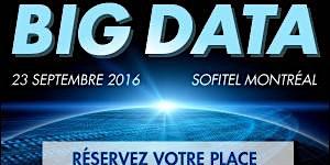 Conférence Big Data et déjeuner-causerie avec la...
