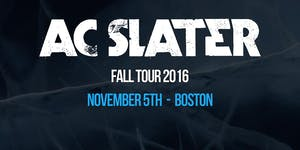 AC Slater at Λscend | 11.5.16