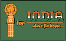 I FOR INDIA logo