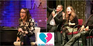 The Great Love Debate returns to NYC - October 17