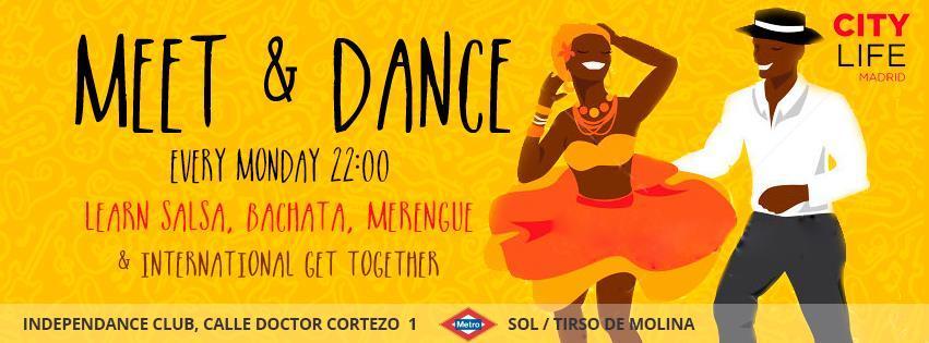 Meet & Dance: Learn Salsa, Merengue, Bachata