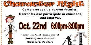Free Youth Night Character Night