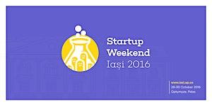 Startup Weekend Iasi 28-30 October 2016