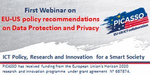 PICASSO Webinar onEU-US policy recommendations on...