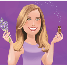 The Essential Oil Lady logo
