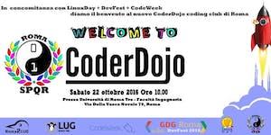 Welcome CoderDojo SPQR - @{LinuxDay + DevFest +...