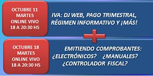 TALLER ONLINE: IVA + RÉGIMEN INFORMATIVO + EMISIÓN DE...