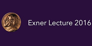 Exner Lecture 2016
