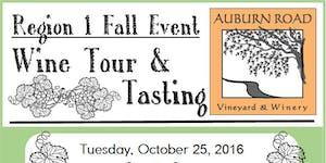 Region 1 Fall Event: Wine Tour & Tasting