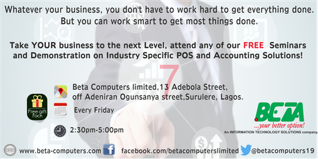 Industry Specific POS And Accounting Solutions Workshop Tickets Free