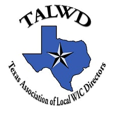 TALWD with training provided by Texas WIC logo