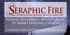 A Seraphic Fire Christmas: On Winter's Night