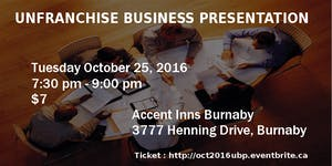 Vancouver UBP - October 25, 2016