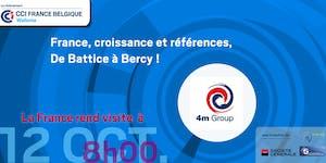 France, croissance et références, De Battice à Bercy !