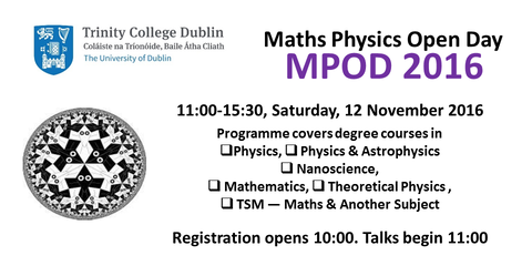 Image result for TRINITY COLLEGE DUBLIN MATHS PHYSICS