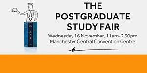 The Postgraduate Study Fair Manchester 2016