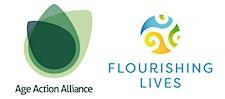 Age Action Alliance & Flourishing Lives  logo