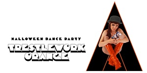 A Trestlework Orange Halloween Dance Party