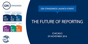 GRI Standards Launch Event Chicago