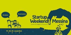 Startup Weekend Messina 11/16