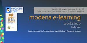 Modena e-learning workshop