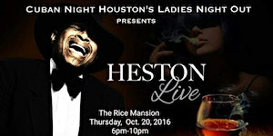 Cuban Night  ~ Special Guest Heston Francis