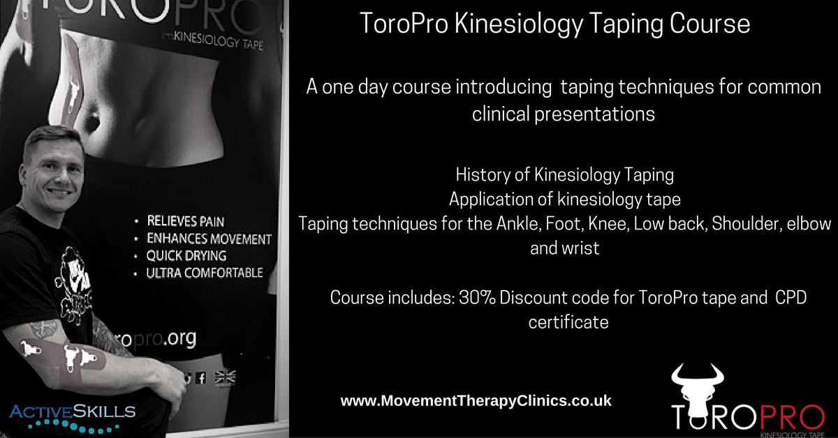 ToroPro Kinesio Taping for the Athlete