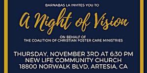 Barnabas LA - A Night of Vision - November 3