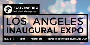 Playcrafting Los Angeles Inaugural Expo!