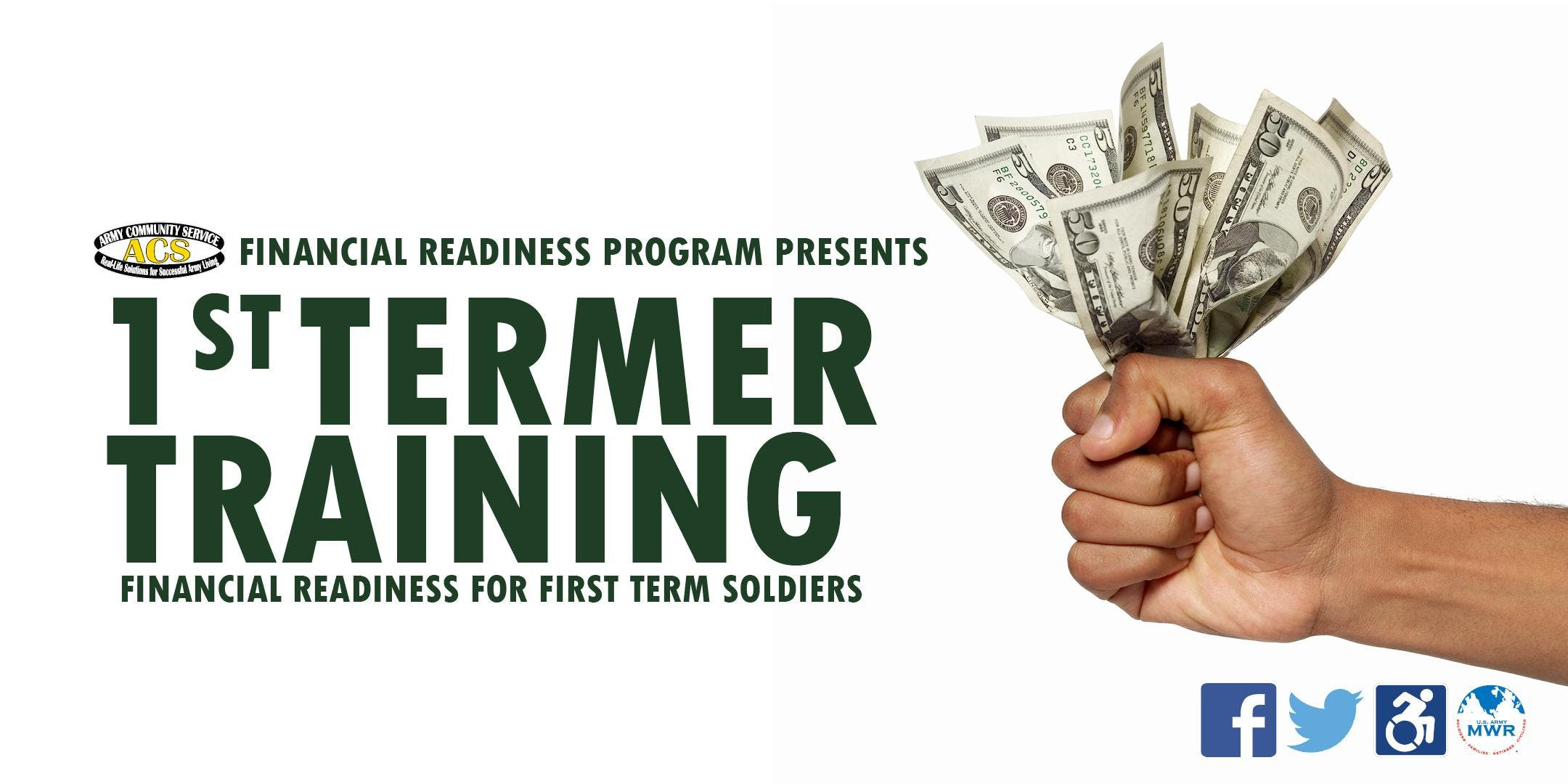 Financial Readiness for First Term Soldiers F