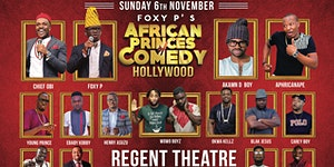 African Princes of Comedy - HOLLYWOOD