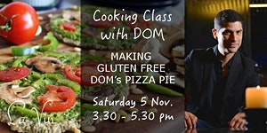 DOMS PIZZA PIE - Cooking Class at LA VIN