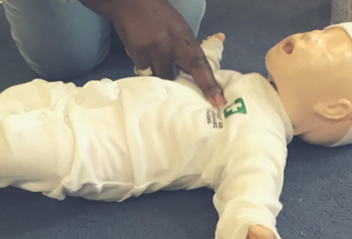 1 day Paediatric Blended Learning First Aid Lewisham SE4