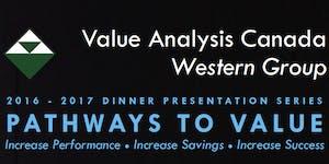 VAC Western Group Dinner Presentation Series- November...