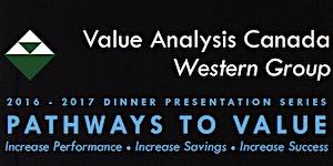 VAC Western Group Dinner Presentation- May 11 2017