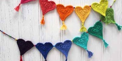 Tetbury Library Yarn Bombing Group