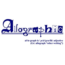 Allographic logo