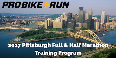 2017 Marathon & Half Marathon Training Program Info Session - Monroeville tickets