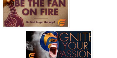Firefan Interactive Sports app launch event! Pre-register