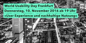World Usability Day Frankfurt