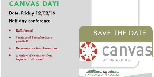 Special Event! Canvas Day at NVC