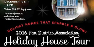 2016 Fan District Holiday House Tour