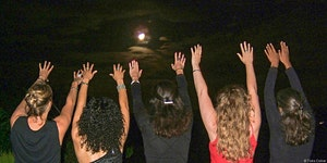The Lunar Eclipse Full Moon in Aquarius Alchemy Gatheri...