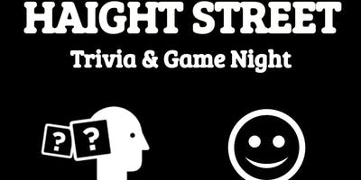 Haight Street Trivia, Comedy, Gaming & FREE Pizza Night!