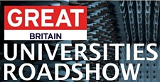 GREAT Universities Roadshow logo